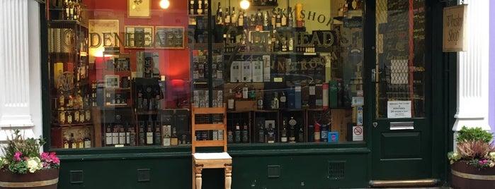 Cadenhead's Whisky Shop & Tasting Room is one of London.