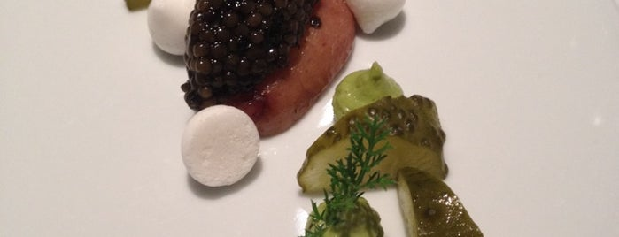 Restaurant TIM RAUE is one of Cool cuisine.