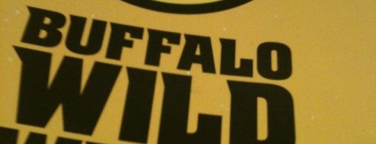 Buffalo Wild Wings is one of สถานที่ที่ Cindy ถูกใจ.
