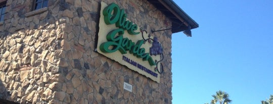 Olive Garden is one of Los Angeles.