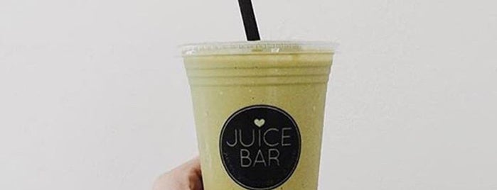 Juice Bar is one of Juice Places So Rad You'll Forget They're Healthy.