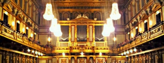 Musikverein is one of Vienna.