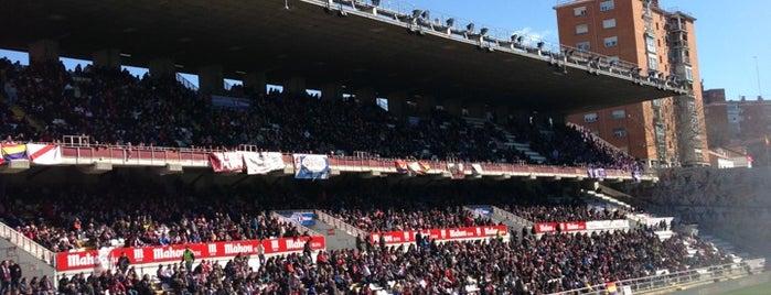 Estadio de Vallecas is one of The Great Football Pilgrimage.