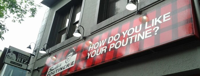 Smoke's Poutinerie is one of Winnipeg.