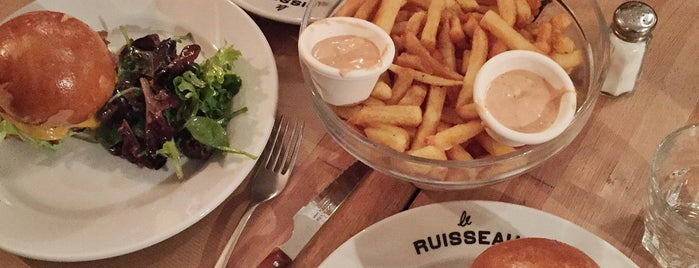 Le Ruisseau is one of Burger.