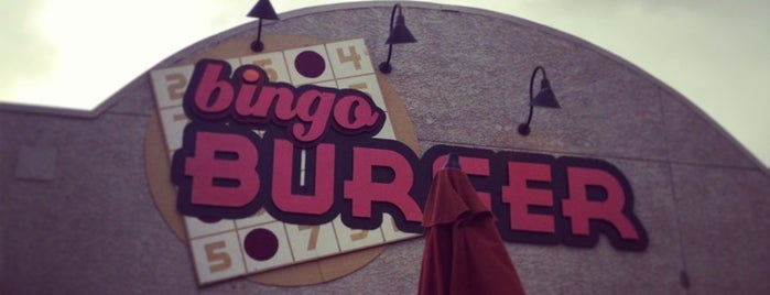 Bingo Burger is one of Cynthia 님이 좋아한 장소.