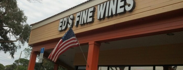 Ed's Fine Wine is one of Hidden Treasures of Tampa Bay.