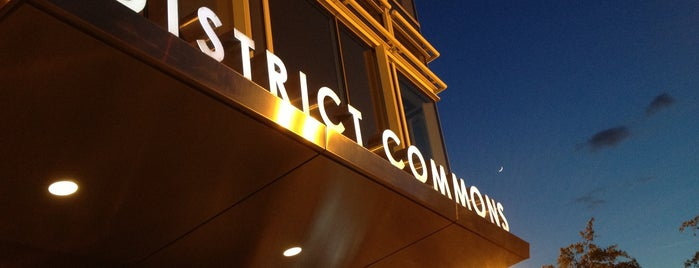District Commons is one of DC Restaurants.