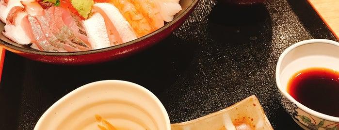 廻転寿司 三国港 たけ庄 is one of Posti che sono piaciuti a Tanaka.