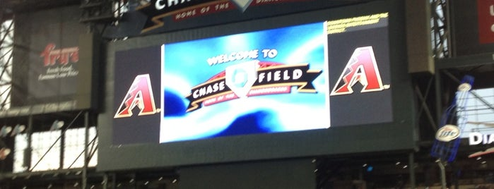 Chase Field is one of MLB.