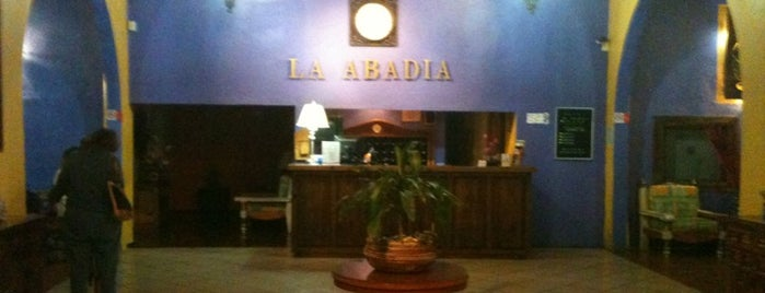 Hotel La Abadía is one of Lieux qui ont plu à Sergio.
