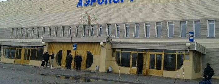 Аэропорт Ноябрьск (NOJ) is one of Mikhael : понравившиеся места.