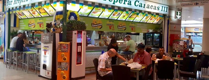 Arepera Caracas is one of Испания-португалия.