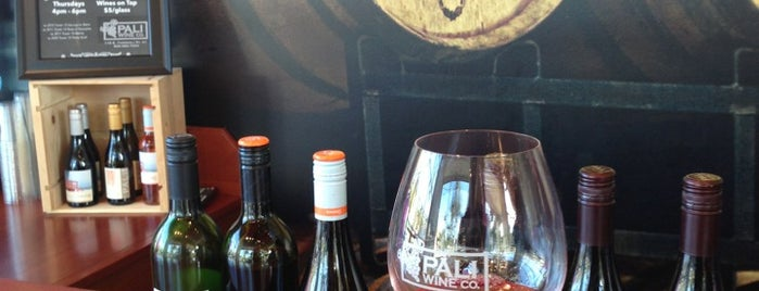 Pali Wine Co. is one of Once a Californian, always a Californian!.