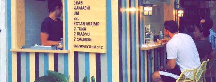 Sushi on Jones is one of Lugares favoritos de Jonathan.