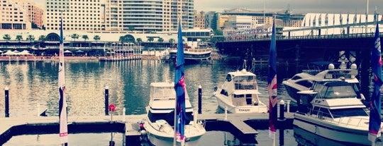Cockle Bay Wharf is one of Tempat yang Disukai Benjamin.