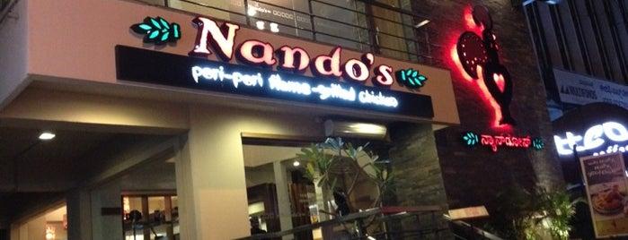Nandos is one of Lugares favoritos de Jobin.