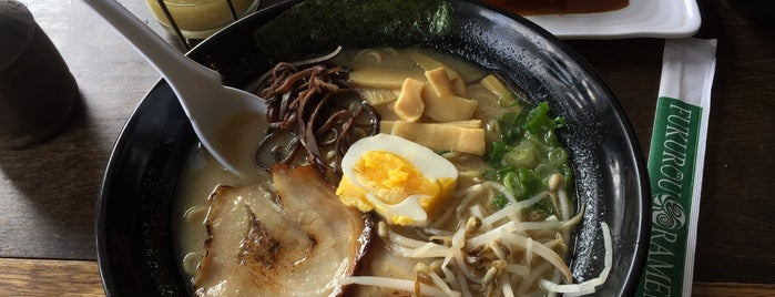 Fukurou Ramen is one of LA.