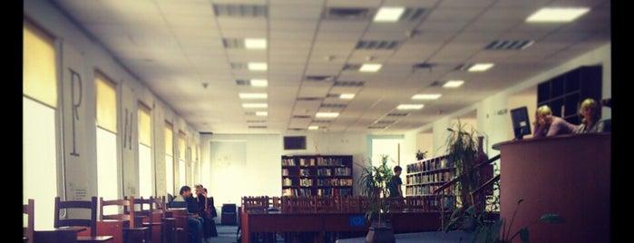 Бібліотека ім. Тетяни та Омеляна Антоновичів is one of Locais curtidos por Kateryna.