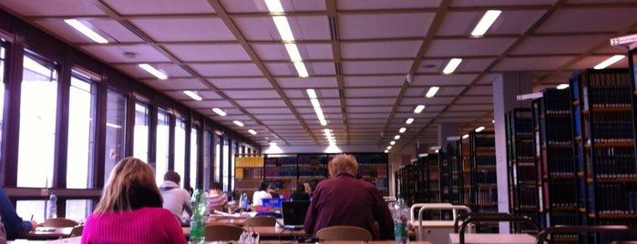 Fachbibliothek GW/GSW is one of Çiğdem : понравившиеся места.