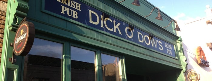 Dick O'Dow's Irish Pub is one of Places Named Dick.