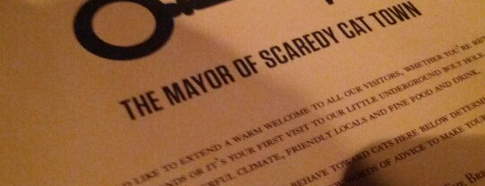 The Mayor of Scaredy Cat Town is one of London.