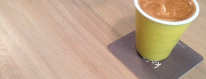 Kaffe o is one of Lugares favoritos de Steven.
