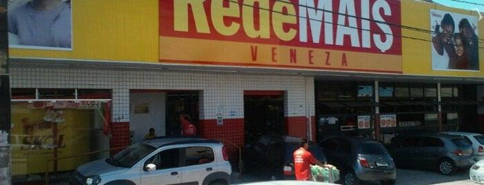 RedeMAIS Veneza is one of ATM - Onde encontrar caixas eletrônicos.