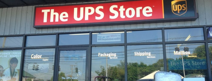 The UPS Store is one of Pablo 님이 좋아한 장소.