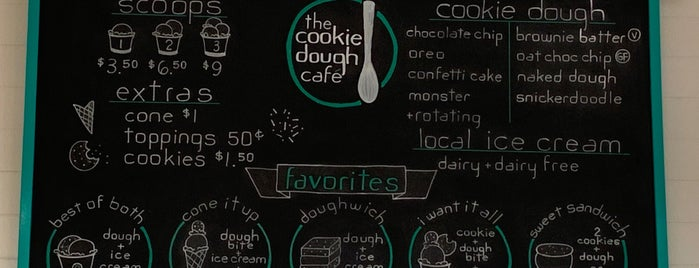 The Cookie Dough Cafe is one of Oregon - The Beaver State (1/2).