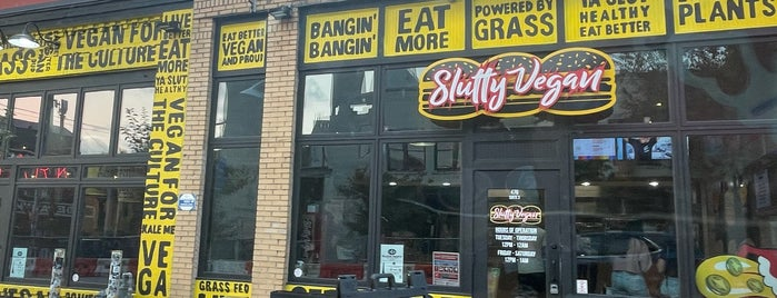 SluttyVegan ATL is one of ATL Dinner Spots.