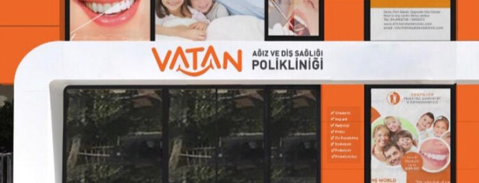 Vatan Diş ve Ağız Sağlığı Polikliniği is one of Posti che sono piaciuti a Ozancan.