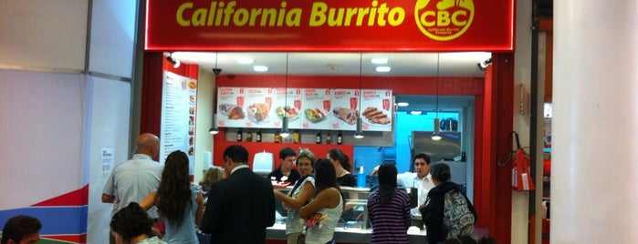 CBC California Burrito Company is one of สถานที่ที่ Eduardo ถูกใจ.