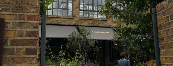 Allpress Espresso Roastery & Cafe is one of London is burning.