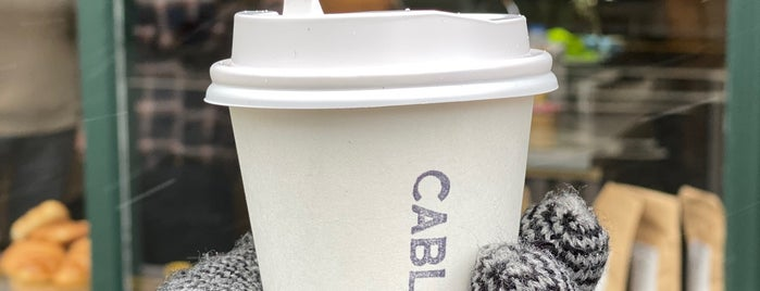 Cable Co. is one of LDN - Brunch/coffee/ breakfast.