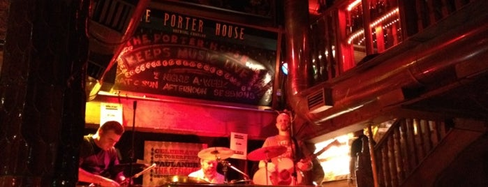 The Porterhouse is one of Dublin.