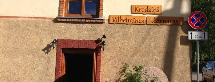 Vilhelmīnes dzirnavas is one of Lugares favoritos de Andra.