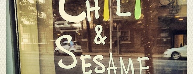 Chili & Sesame Korean Kitchen is one of Seattle WA 🌲.