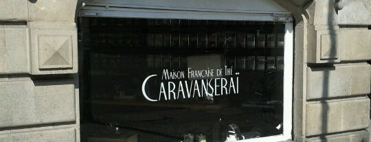 Caravanseraï is one of Restaurantes y cafes.