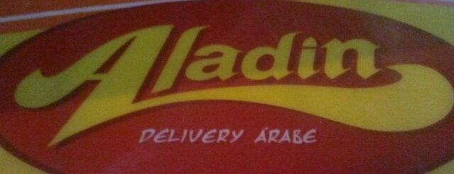 Aladin Delivery Árabe is one of Lieux sauvegardés par Aline.