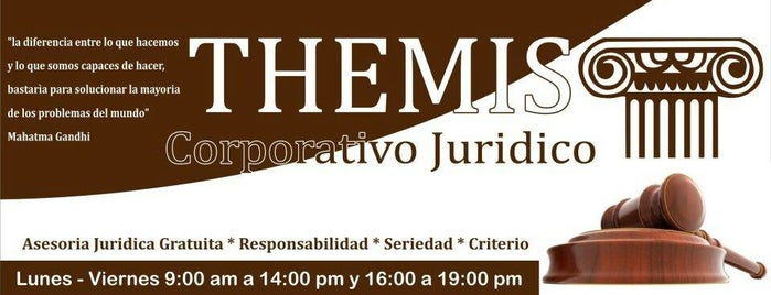 Corporativo Juridico Themis is one of Posti che sono piaciuti a Sergio M. 🇲🇽🇧🇷🇱🇷.
