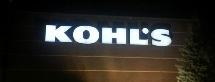 Kohl's is one of Lugares favoritos de Toby.