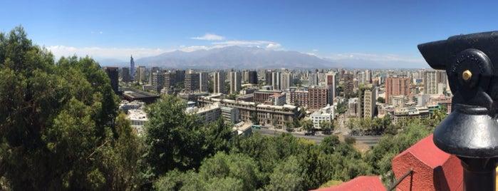 Cerro Santa Lucía is one of Tempat yang Disukai constanza.