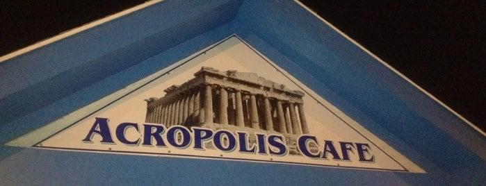 Acropolis Cafe is one of Lugares guardados de Lizzie.