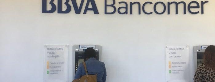 BBVA Bancomer Sucursal is one of Tempat yang Disukai c.