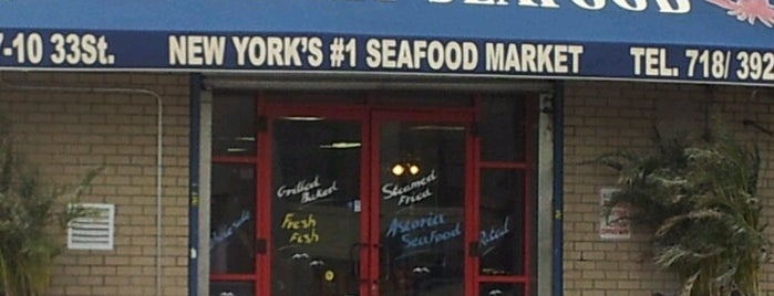 Astoria Seafood is one of NYC.
