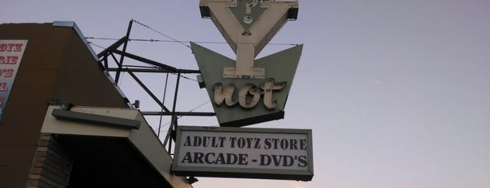 Y Not is one of Northern CALIFORNIA: Vintage Signs.