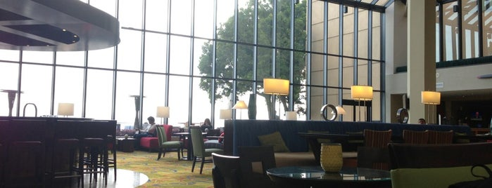 Marriott San Francisco Airport Lobby Bar (Flights) is one of Bars in San Francisco to watch NFL SUNDAY TICKET™.