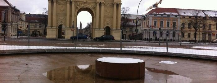 Luisenplatz is one of Potsdam.