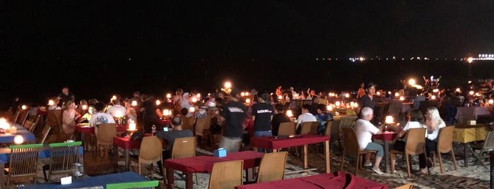 Jimbaran Beach Cafe is one of Indonesia.